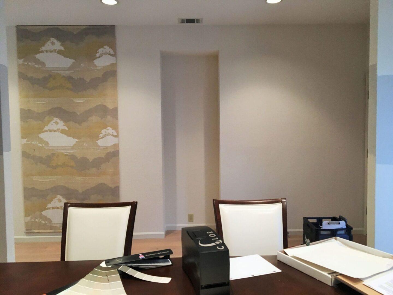 """""""Before"""" photo of dining area for Sacramento interior design"""