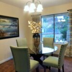 stylish dining area showing Sacramento interior design and home staging