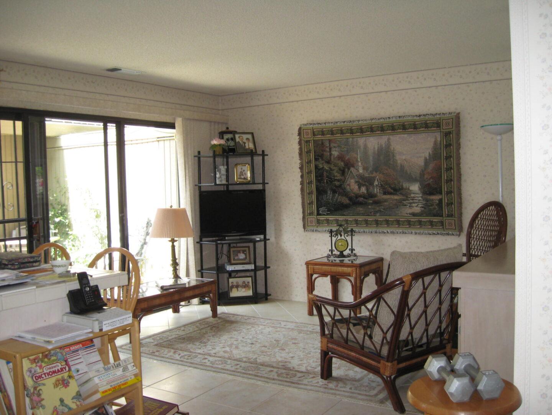 """""""Before"""" photo of living area for Sacramento interior design"""
